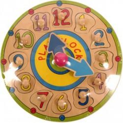 Óra fa 12 darabos puzzle - Az első fajátékaim - Az első fajátékaim