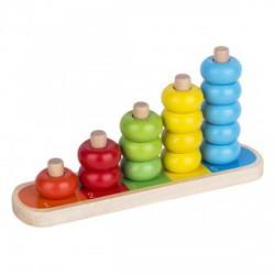 Fa számoló játék 16 darabos készlet - Logikai fajátékok - Fajátékok