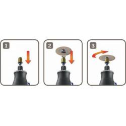 DREMEL® EZ SpeedClic tüske 2615S402JB - tartozék - Dremel tartozékok - Dremel gépek Dremel