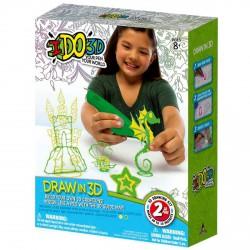I DO 3D 2 db-os szett, csikóhal - I do 3D kreatív játékok - I do 3D kreatív játékok I do 3D