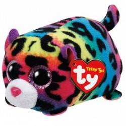 Teeny TY - Jelly leopárd plüssfigura - 10 cm - Teeny TY plüssfigurák - Plüss és állat,-mesefigurák Teeny TY