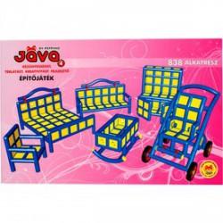 Jáva 4 építőjáték 838 darabos - JÁVA építőjátékok - Építőjátékok Jáva