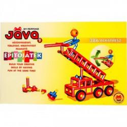 Jáva 5 építőjáték, 386 darabos - JÁVA építőjátékok - Építőjátékok Jáva