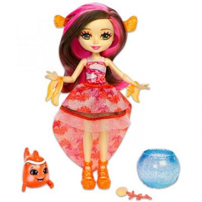 EnchanTimals Clarita Clownfish baba és kicsi bohóchala - EnchanTimals babák, játékok