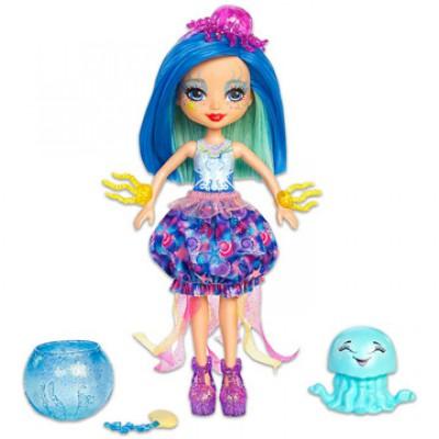 EnchanTimals Jessa Jellyfish baba és kicsi medúzája - EnchanTimals babák, játékok