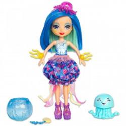 EnchanTimals Jessa Jellyfish baba és kicsi medúzája - EnchanTimals babák, játékok - EnchanTimals babák, játékok EnchanTimals