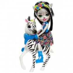 EnchanTimals babák nagy állatkákkal - Zelena Zebra és Hoofette - EnchanTimals babák, játékok - EnchanTimals babák, játékok EnchanTimals