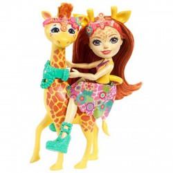 EnchanTimals babák nagy állatkákkal - Gillian Giraffe és Pawl - EnchanTimals babák, játékok - EnchanTimals babák, játékok EnchanTimals