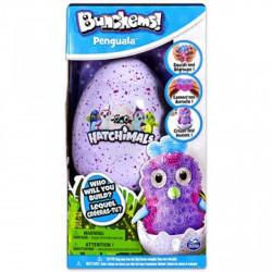 Bunchems Hatchimals pingvin figura - Hatchimals plüssök tojásban - Építőjátékok Hatchimals