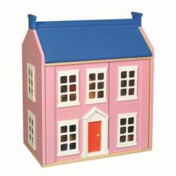 Fa babaház bútorokkal - rózsaszín - Fajátékok lányoknak - Fajátékok