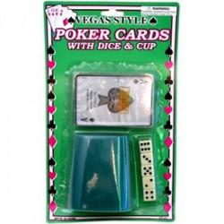Kockapóker lapon - kártya - Társasjátékok - Társasjátékok
