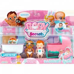 Baby Secrets bölcső szett, kiegészítő csomag - BABY Secrets babák - BABY Secrets babák Baby Secrets