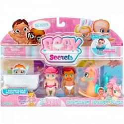 Baby Secrets hintalovas szett, kiegészítő csomag - BABY Secrets babák - BABY Secrets babák Baby Secrets