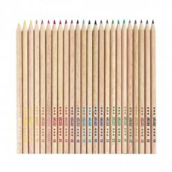 Herlitz színesceruza/24 szín, hatszögletű, natúrfa - Herlitz - Herlitz HERLITZ