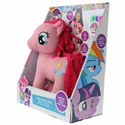 Én kicsi pónim Pinkie Pie póni kifesthető plüss - rózsaszín - Én kicsi pónim játékok - Én kicsi pónim játékok Én kicsi pónim