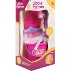 Dobozos takarító készlet - rózsaszín - Lányos játékok - Lányos játékok
