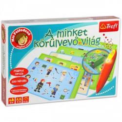 Trefl Kis felfedező oktatójáték - A minket körülvevő világ - Társasjátékok - Társasjátékok TREFL
