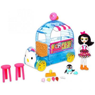 EnchanTimals Jeges finomságok négy keréken játékszett - EnchanTimals babák, játékok