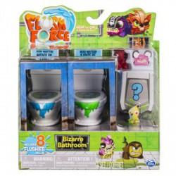 Flush Force bűzös WC játékszett 8 darab figurával - többféle - FLUSH Force játékok - FLUSH Force játékok Flush Force Mutánsok