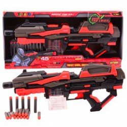 Serve and Protect szivacslövő fegyver - 54 cm - Játék fegyverek - Játék fegyverek Serve and Protect