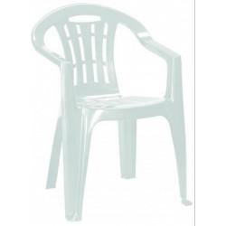 Curver 220598 Mallorca műanyag kerti szék, fehér színben - KERTI bútorok - KERTI bútorok Curver