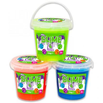 Slime vödrös - 750 g, több színben - SLIME játékok
