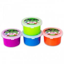 Slime tégelyes - 80 g, több színben - SLIME játékok - SLIME játékok Slime