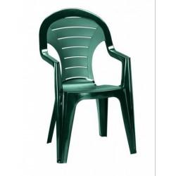 Curver BONAIRE41SZ Bonaire 4+1 kerti bútor garnitúra, sötét zöld színben - KERTI bútorok - KERTI bútorok Curver