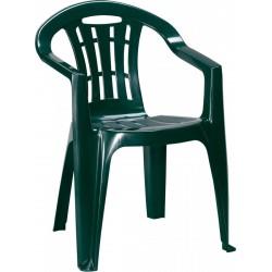 Curver MALLORCA41SZ Mallorca 4+1 kerti bútor garnitúra sötétzöld színben - KERTI bútorok - KERTI bútorok Curver
