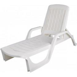 Curver 218108 Florida kerti nyugágy fehér - KERTI bútorok - KERTI bútorok Curver