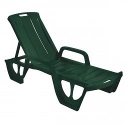 Curver 218112 Florida kerti nyugágy sötétzöld - KERTI bútorok - KERTI bútorok Curver