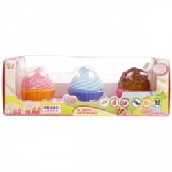 Cupcake bears - illatos mini sütimacik 3darabos, 24 féle változatban - Cupcake - Sütibabák és fagyikehely babák - Cupcake - Sütibabák és fagyikehely babák Cupcake