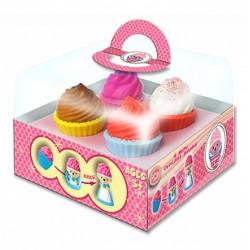 Cupcake bears - illatos mini sütimacik 4 darabos, 24 féle változatban - Cupcake - Sütibabák és fagyikehely babák - Cupcake - Sütibabák és fagyikehely babák Cupcake