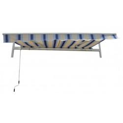Gardenwell 37928 Napellenző feltekerhető, kék-bézs Otthon Otthon Gardenwell