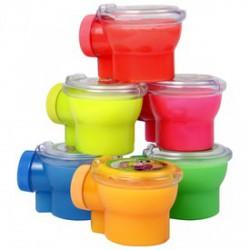 Slime WC-ben, 6 féle színben - SLIME játékok - SLIME játékok Slime