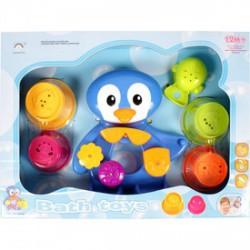 Lubickoló pingvin fürdőjáték, bébijáték - Bébijátékok - Bébijátékok
