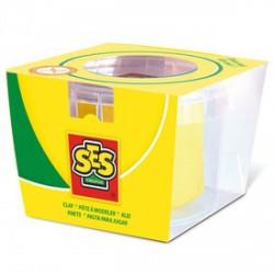 SES tégelyes gyurma - sárga, 90 g - SES Kreatív játékok - SES Kreatív játékok SES