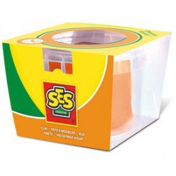SES tégelyes gyurma - narancssárga, 90 g - SES Kreatív játékok - SES Kreatív játékok SES