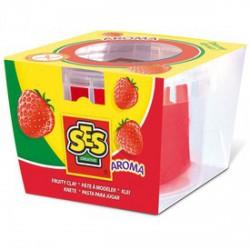 SES gyurma eper illattal - piros, 90 g - SES Kreatív játékok - SES kreatív játékok SES