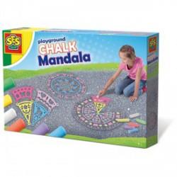 SES aszfalt mandalarajzoló készlet - SES Kreatív játékok - SES Kreatív játékok SES
