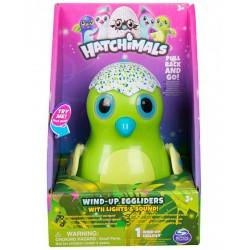 Hatchimals Wind-up Eggliders felhúzható tojás zenél, világít, zöld színben - Hatchimals plüssök tojásban - Hatchimals plüssök tojásban Hatchimals