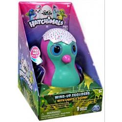 Hatchimals Wind-up Eggliders felhúzható tojás zenél, világít, rózsaszín - Hatchimals plüssök tojásban - Hatchimals plüssök tojásban Hatchimals