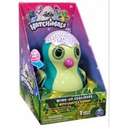 Hatchimals Wind-up Eggliders felhúzható tojás zenél, világít, türkízkék - Hatchimals plüssök tojásban - Hatchimals plüssök tojásban Hatchimals