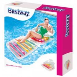 Bestway összecsukható gumimatrac 193x84 cm - BESTWAY strandcikkek - BESTWAY strandcikkek Bestway