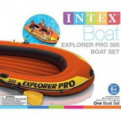 INTEX Explorer Pro 300 gumicsónak - 244x117x36 cm - BESTWAY strandcikkek - BESTWAY strandcikkek Intex