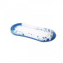 Bestway foltos gumimatrac - kék-fehér, 160x86 cm - BESTWAY strandcikkek - BESTWAY strandcikkek Bestway