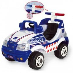 Elektromos rendőr terepjáró - 6V, bébiautó - Járművek - Járművek